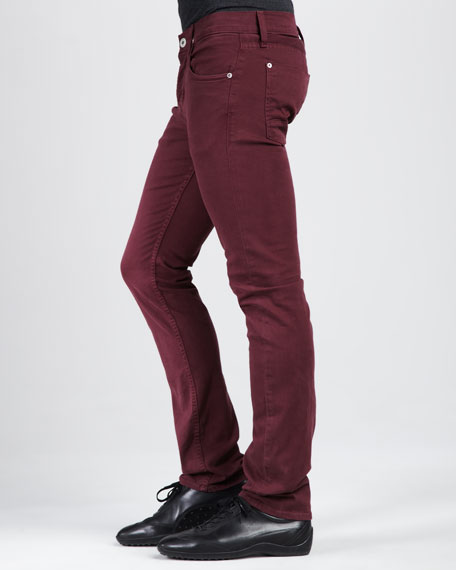 Byron Five-Pocket Pants, Port