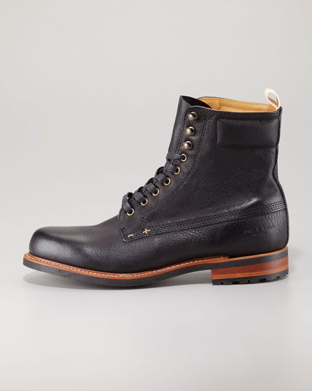 Officer Lace-Up Boot