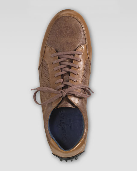 Air Grant Leather Sneaker, Cognac