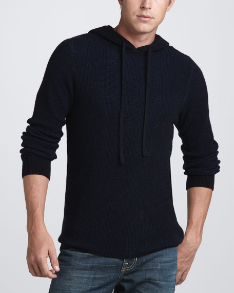 Thermal Henley Sweater, Coastal