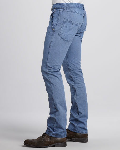 Slim Five-Pocket Pants