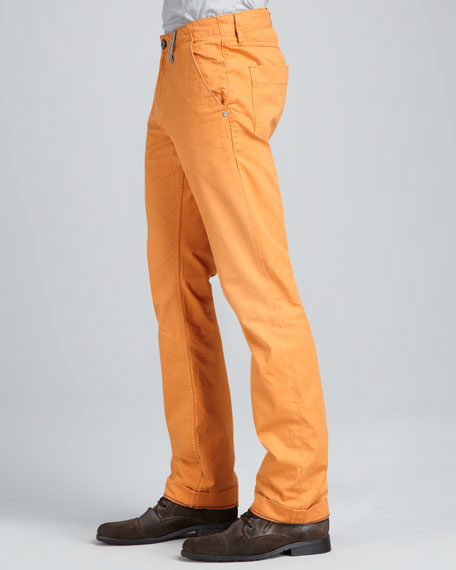 Yates Classic Jeans, Orange