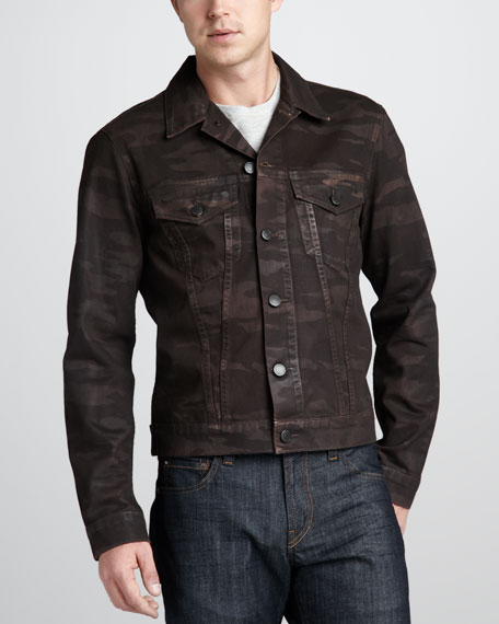 Owen Camo Denim Jacket