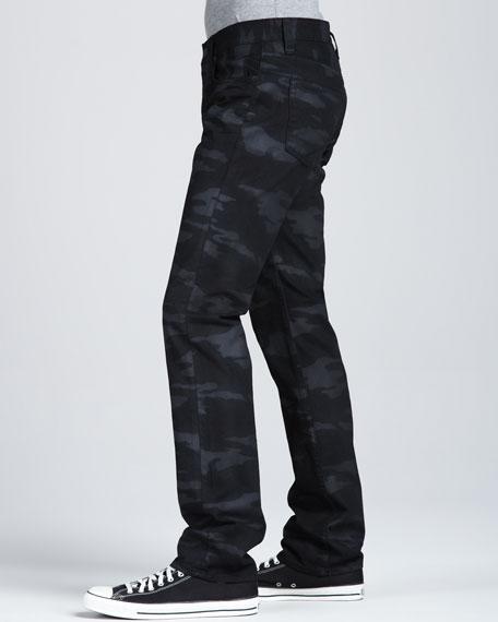 Kane Coated Camo Jeans