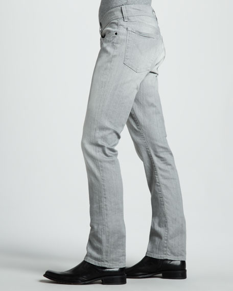 Bowery Bleached Gray Jeans
