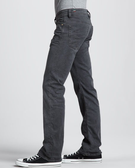 "Viker Straight Gray Jeans, 32""L"