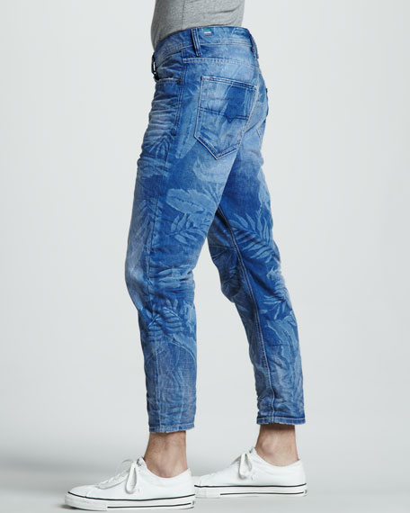 Cropped Carrot Jeans