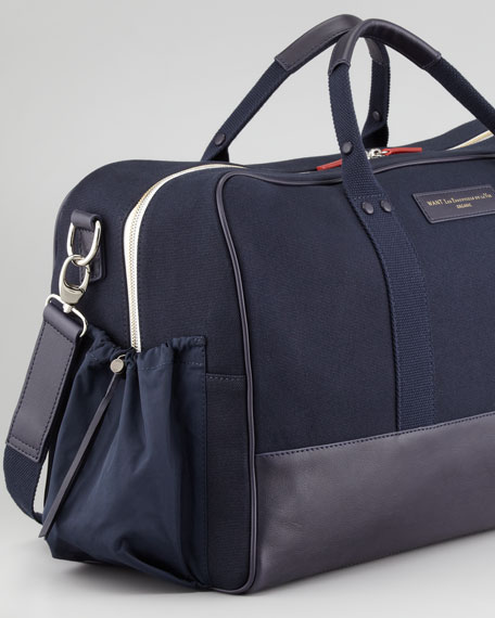 Dulles Men's Gym Bag, Navy