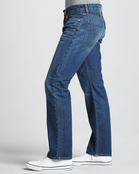 Cutter Straight-Leg Hermosa Jeans
