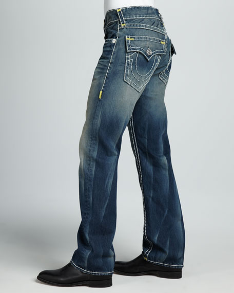 Ricky Straight Super T Jeans, Deadwood