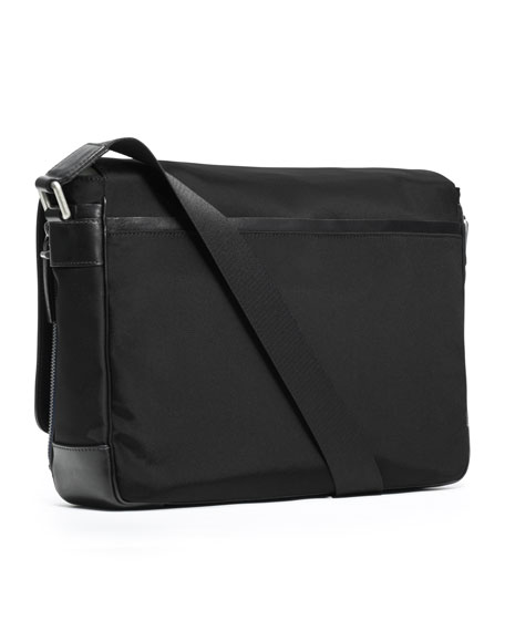 Large Nylon Messenger Bag