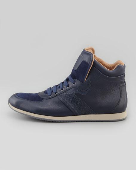 Stanley High-Top Sneaker, Blue