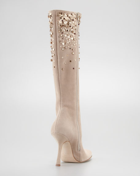 Love Ric Suede Knee Boot
