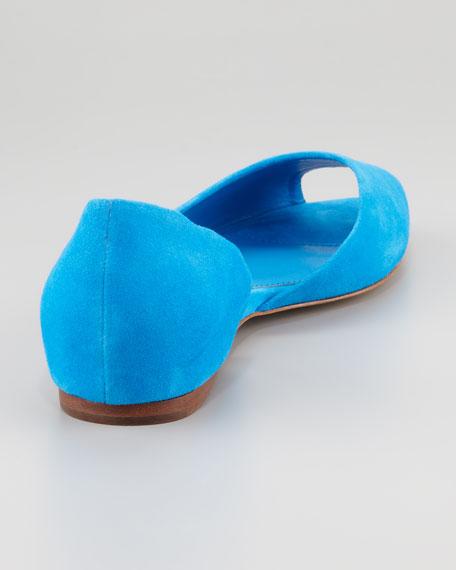 Parket Cutout-Side Flat, Turquoise
