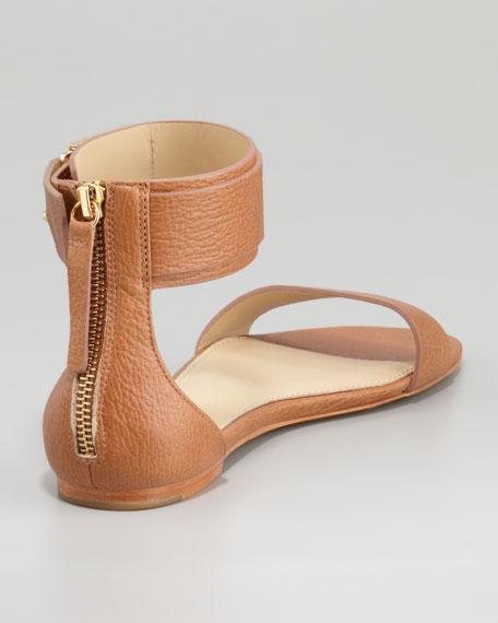 Gladys Ankle-Cuff Flat Sandal