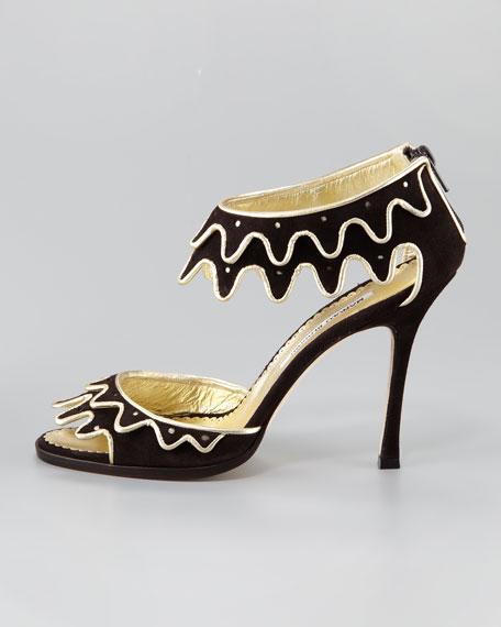 Cusani Suede Sandal