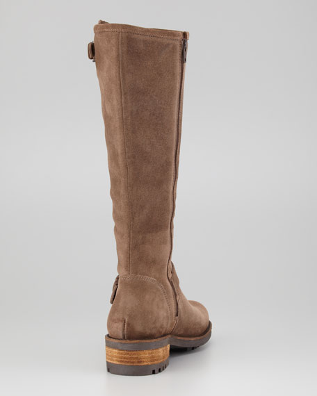 La Canadienne Caleb Oiled Suede Riding Boot