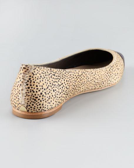 Natalie Cap-Toe Flat
