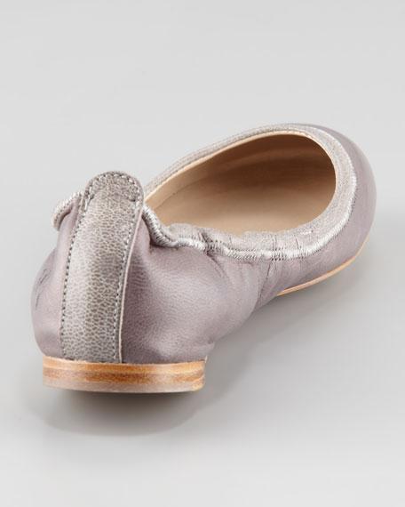 Leon Ballerina Flat, Gray
