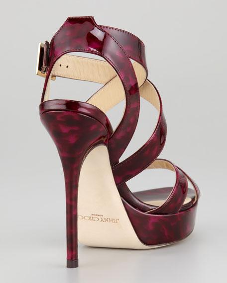 Vamp Platform Sandal