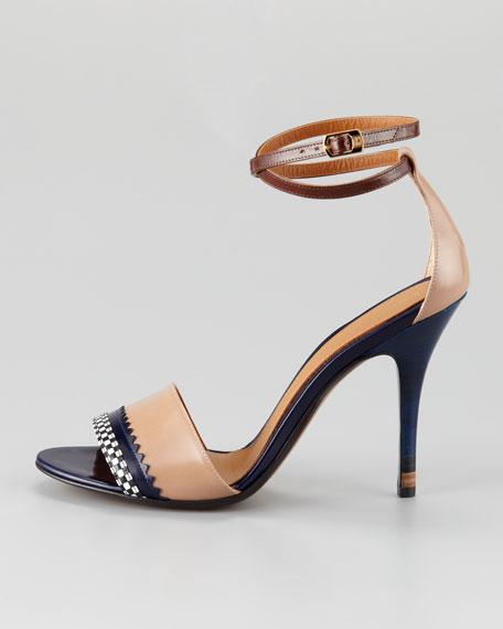 Persuasion Ankle-Wrap Sandal