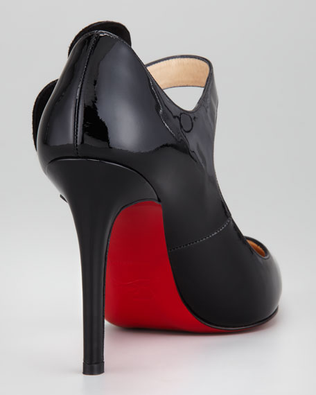 Pensee Patent Red Sole Pump