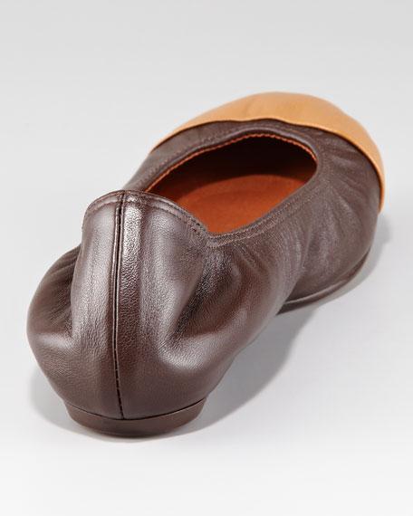 Cap-Toe Ballet Flat