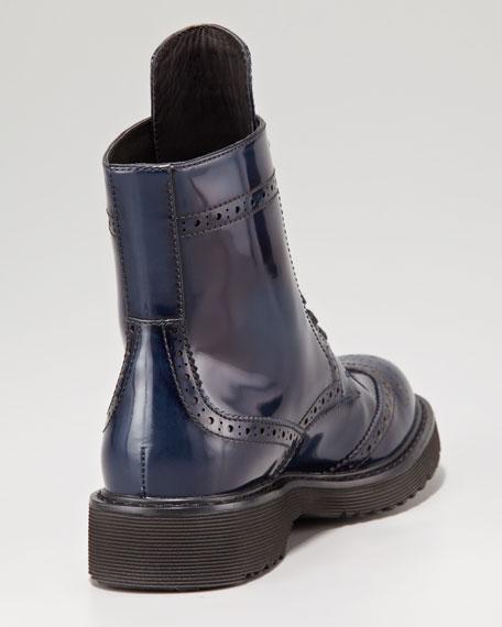 Spazzolato Wingtip Boot