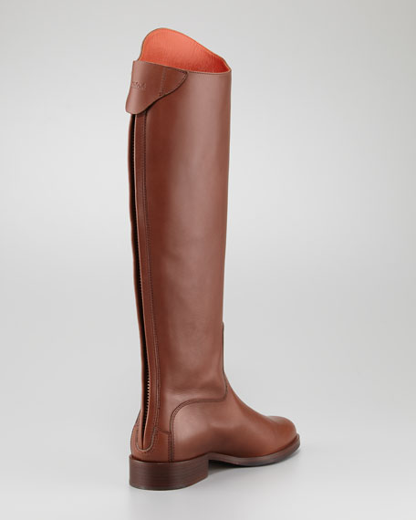 Zip-Back Riding Boot