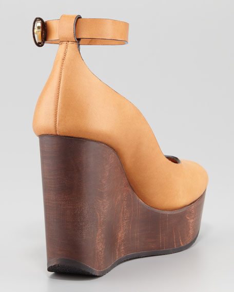 Ankle-Strap Wedge