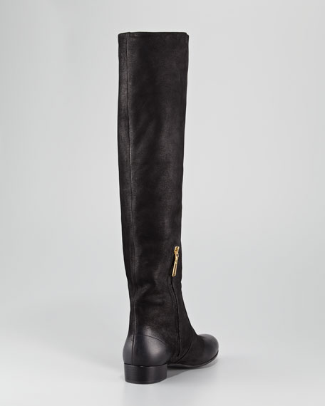 Flat Knee Boot