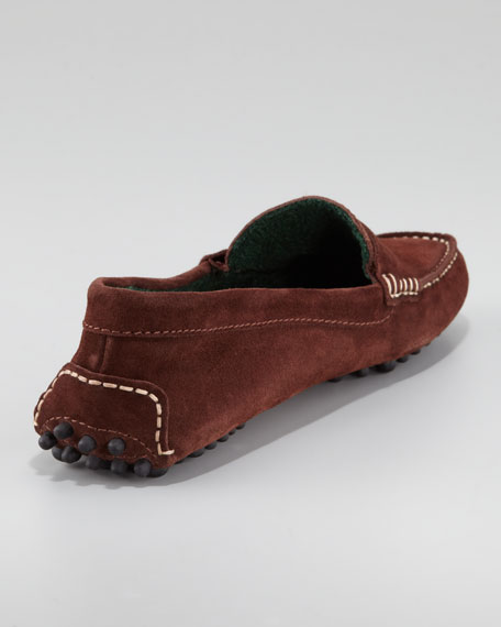 Suede Driver, Chocolate