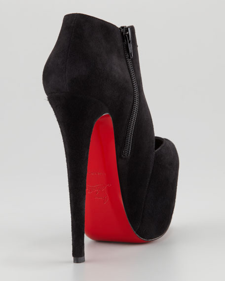 Donue Open-Front Red Sole Bootie