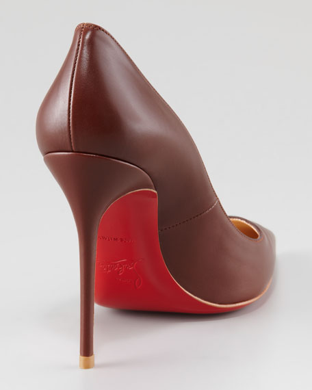 Decollete Pointed-Toe Red Sole Pump