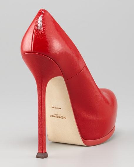 Tribtoo Textured Patent Pump