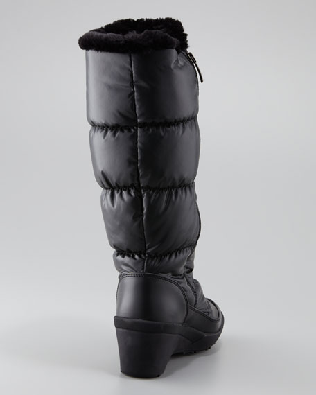 Bianca Puffer Boot, Black