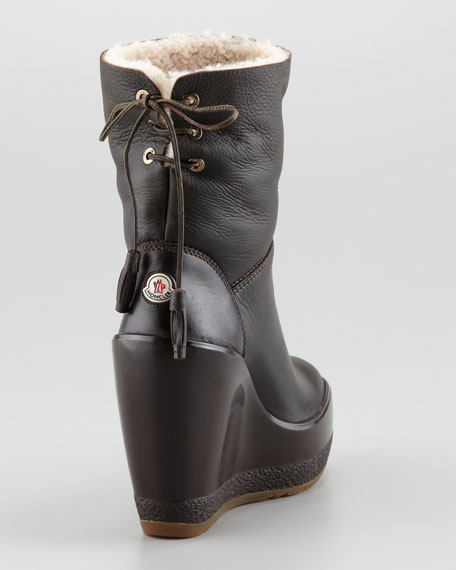 Lugano Shearling Lined Bootie