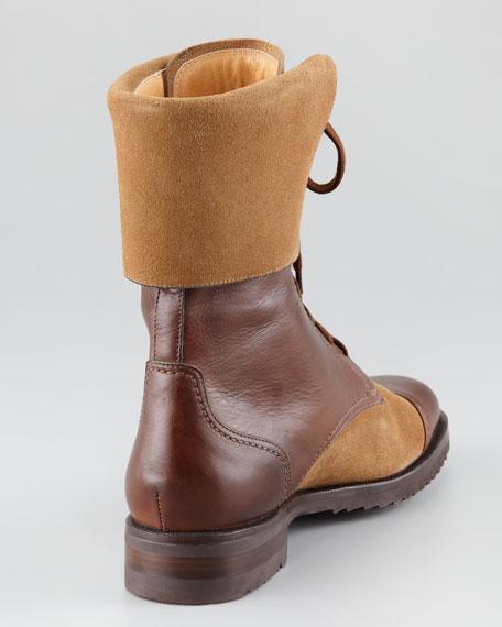 Mid-Calf Combat Boot