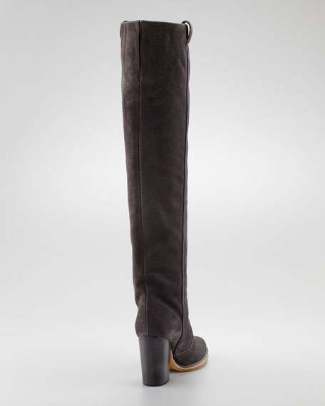 Silas Suede High Boot