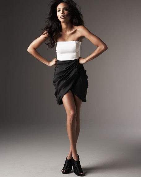 Sara Strapless Dress