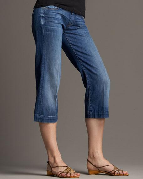 7 For All Mankind Dojo Cropped Jubilee Jeans