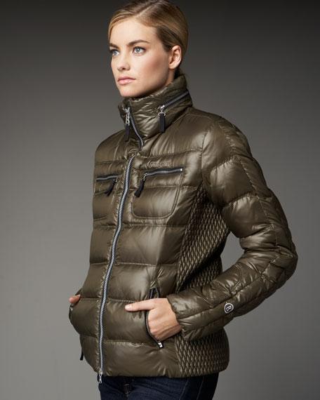 Side-Panel Puffer Jacket