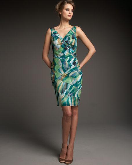 Layered Twist Dress