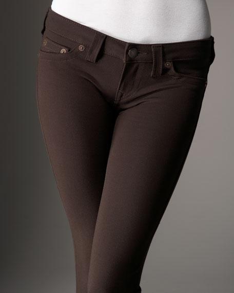 Stella Ponte Skinny Jeans, Brown