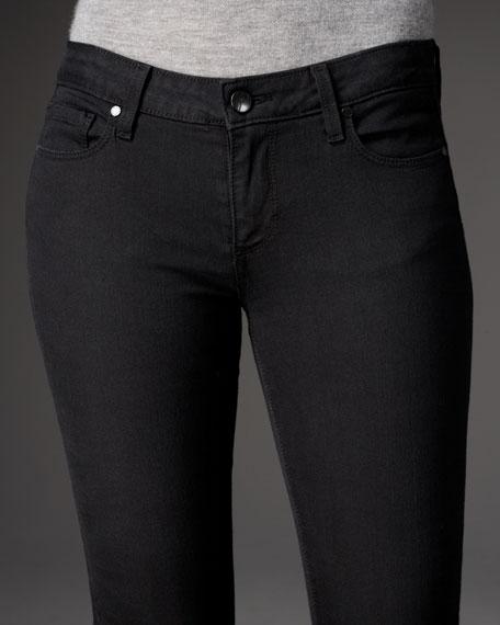 LouLou Vinyl Boot-Cut Jeans