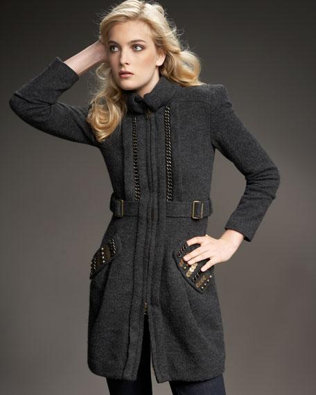 Night Mischief Knit Coat