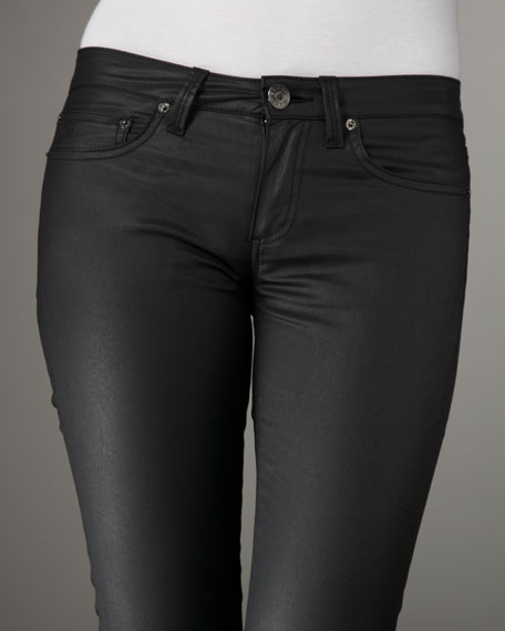 Chrissie Coated Skinny Jeans
