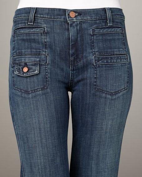 Georgia Wide-Leg New Zealand Jeans