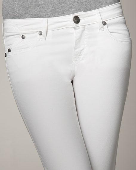 Abigail Twill Baby Boot-Cut Pants