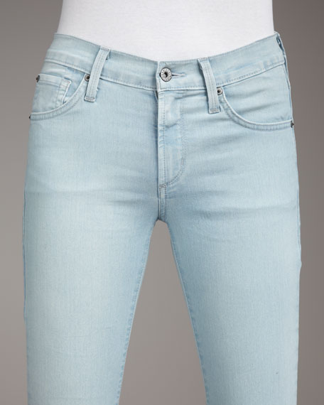 Hunter Sicily High-Rise Straight-Leg Jeans